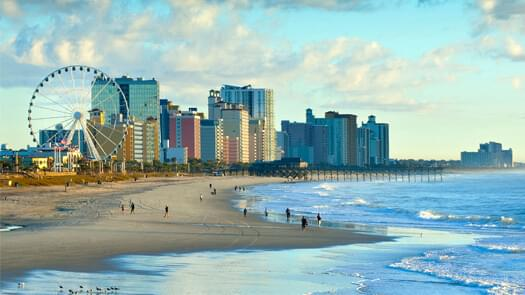 MYRTLE BEACH 4 Days / 3 Nights USA Vacation Give Away
